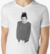 Marina and The Diamonds - Marina Lambrini Diamandis Men's V-Neck T-Shirt