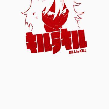Kill la Kill - Matoi Ryuuko Red by Astaen