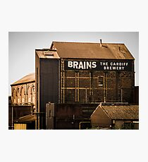 Brains Brewery, Cardiff, Wales Photographic Print