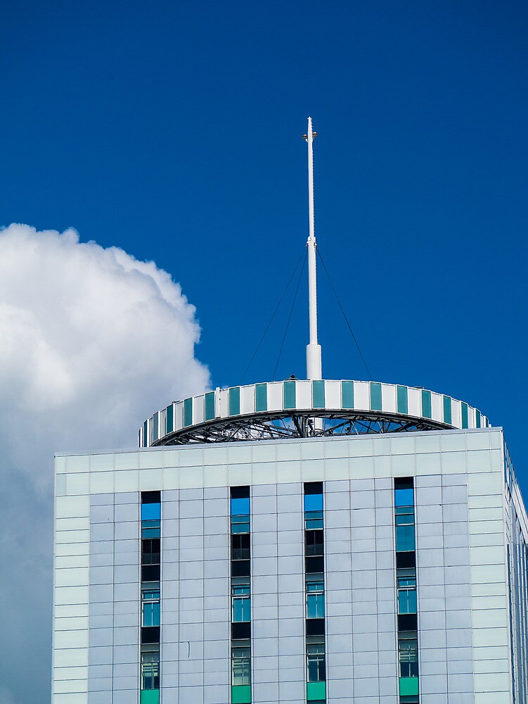 Media Wales Building, Cardiff  by Jimardee