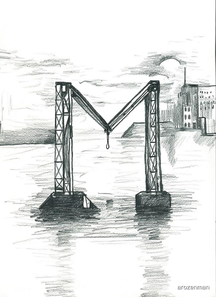 Broken Bridge = M by arozenman