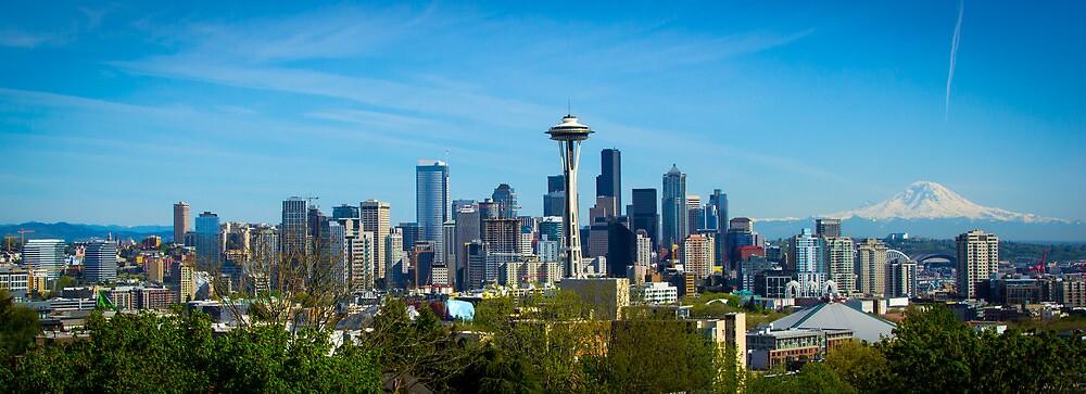 Seattle Skyline by RandyHume