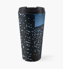 Night Cityscape Background 2 Travel Mug