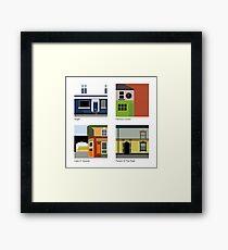 Manchester Pubs - Series #01 Framed Print