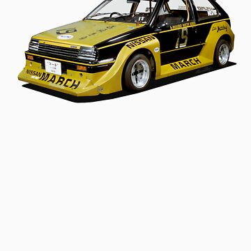 Nissan March Super Turbo Racer by Roobeh