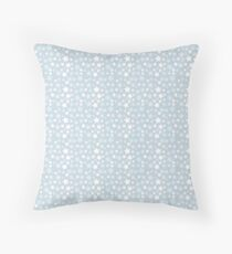 Animal Crossing Snow Pattern Throw Pillow