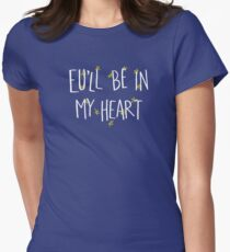 EU Love (For dark backgrounds) Women's Fitted T-Shirt