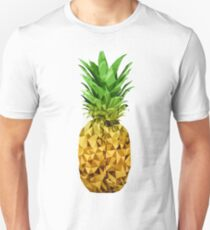 Low Polygon Pineapple Unisex T-Shirt