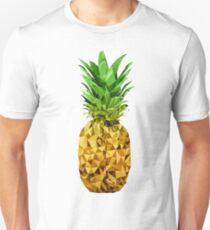 Camiseta unisex Pina de polígono bajo