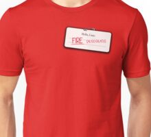 Smaug's name tag Unisex T-Shirt