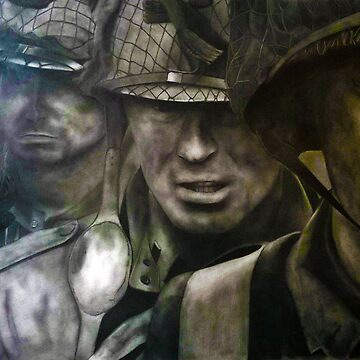 Band of Brothers drawing  by DarrelLeigh
