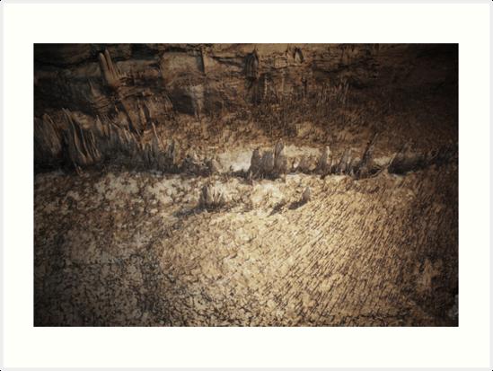 Natural Bridge Caverns by Steven Kabza