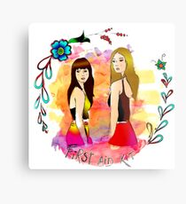 First Aid Kit band Metal Print