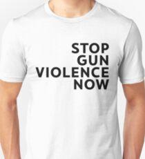 stop gun violence now T-Shirt