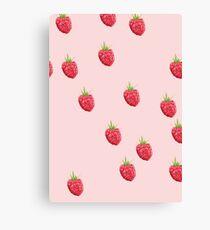 Raspberry Cream Canvas Print