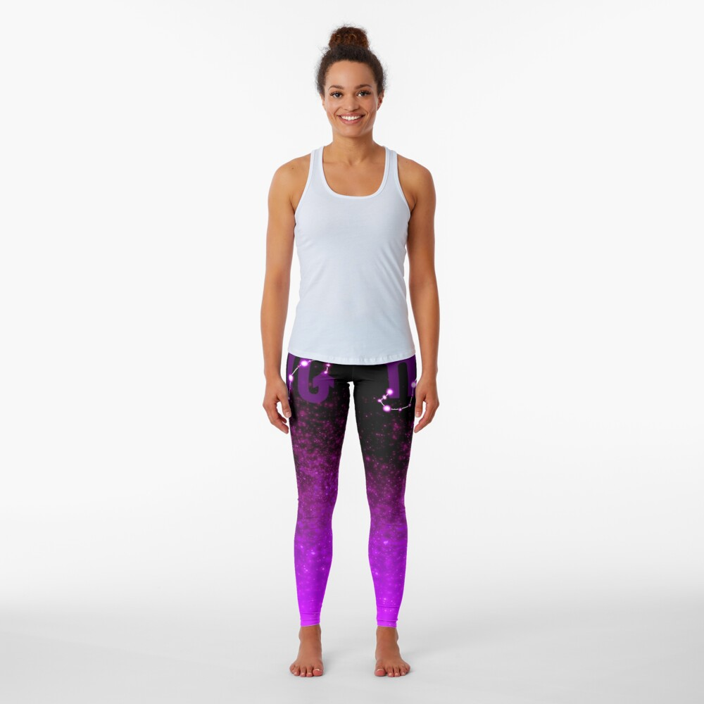 Scorpio - Purple Leggings