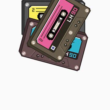 Retro Cassette Tape by khvoretskiy