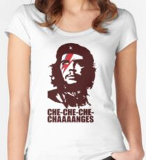 Che-Che_che_changes Women's Fitted Scoop T-Shirt