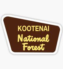 Kootenai National Forest Sticker