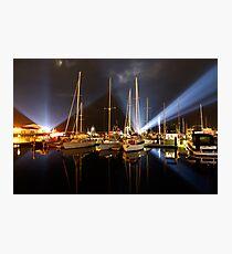 Marina Lights - Dark Mofo 2014 Photographic Print