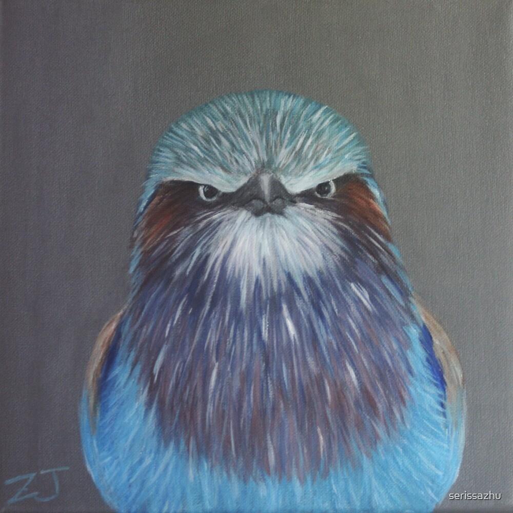 Bird Portrait - Lilac-breasted Roller by serissazhu