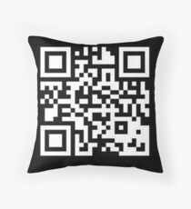 QR CODE  Throw Pillow