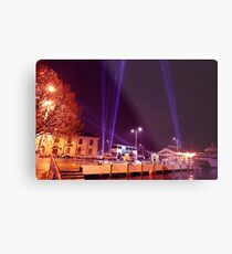 Dark Mofo 2014 - Articulated intersect  waterfront  Metal Print