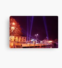 Dark Mofo 2014 - Articulated intersect  waterfront  Canvas Print