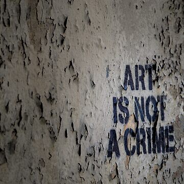 Art is Not a Crime - Graffiti Art - Brooklyn by mindofAR