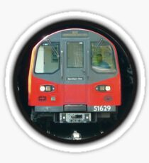 TUBE, TRAIN, Tunnel, London, Underground, UK, GB Sticker