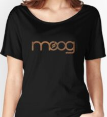 Rusty vintage moog synth Women's Relaxed Fit T-Shirt