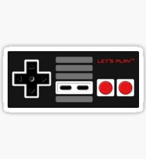 Let's play - Controller Sticker