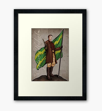 Captain Mal Framed Print
