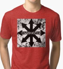Comical Carnage - ChaotiCritic Tri-blend T-Shirt