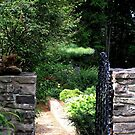 Garden Gate by Maryann Harvey