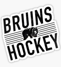 Bruins Hockey Sticker