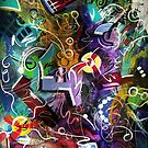 Visual Opus in Abstract 13 by Buddy Sears