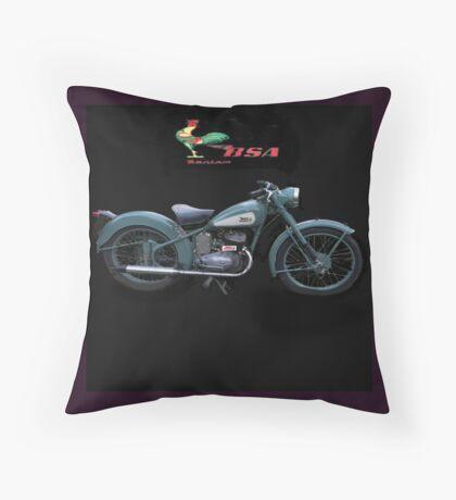 BSA Bantam ,  pillow and tote bag  Throw Pillow