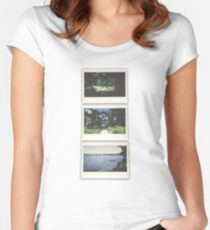 Cypress Transition  Women's Fitted Scoop T-Shirt
