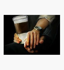 coffee and comfort Photographic Print