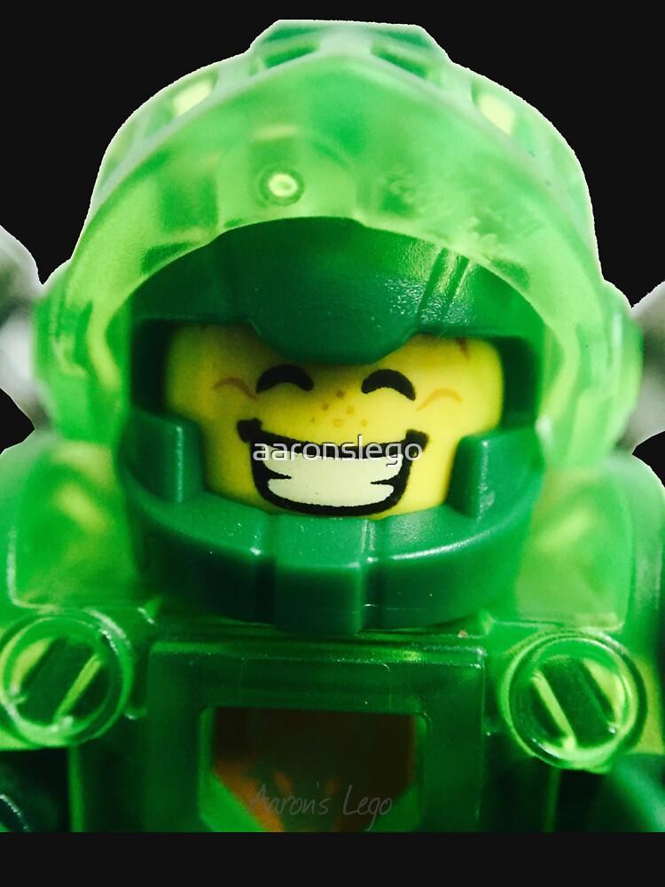Lego Aaron minifigure by aaronslego