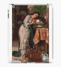 William Holman Hunt - Isabella And The Pot Of Basil 1867 iPad Case/Skin