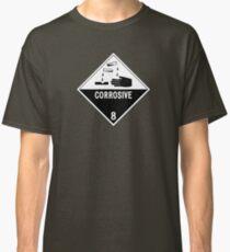 HAZMAT Class 8: Corrosive Classic T-Shirt
