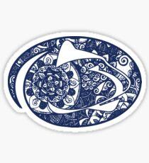 Penn State doodle Sticker