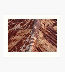 Rusty roof, Hill End. Art Print