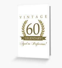 Legendary 60th Birthday Greeting Card