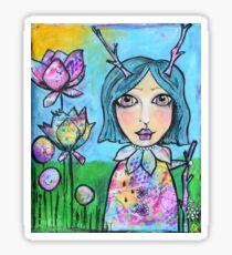 Spring Doll Sticker