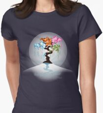 The Four Seasons Bubble Tree - Tee Womens Fitted T-Shirt