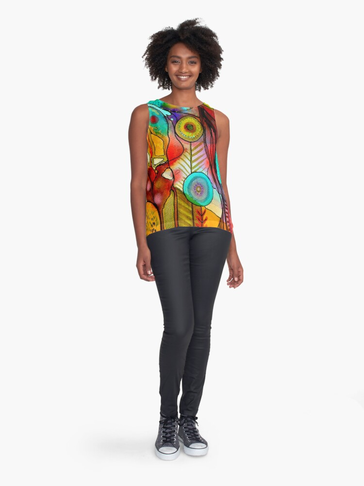 Alternate view of terre d'accueil Sleeveless Top