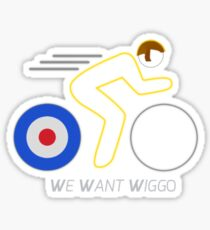 We Want Wiggo Sticker